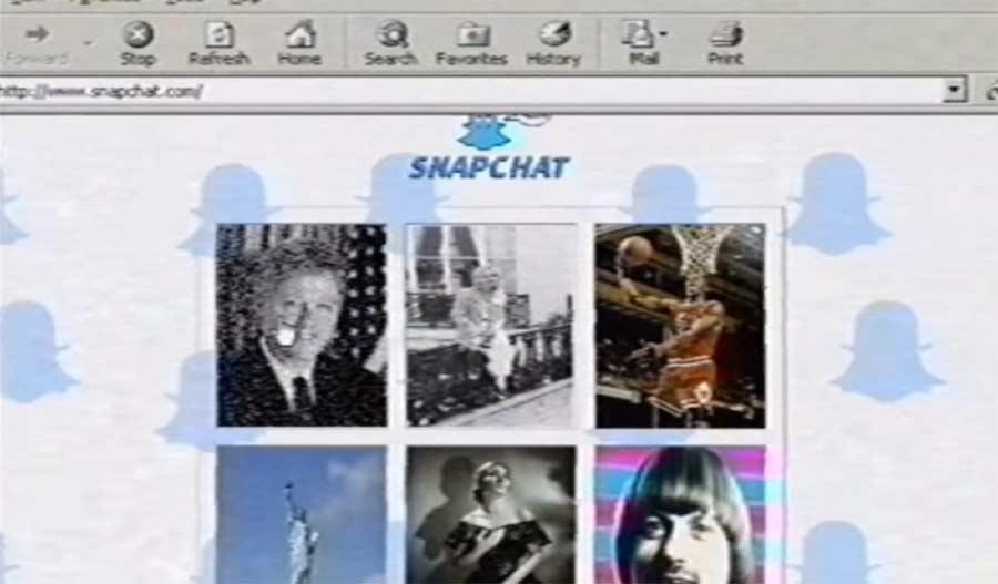 So hätte Snapchat in den 90ern ausgesehen snapchat-in-the-90s