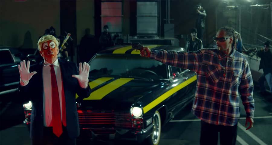 Snoop Dogg's neues Video zeigt die USA als Land der Clowns