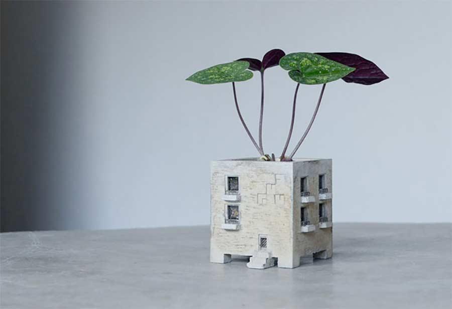 Blumentopf-Zuhause für eure Blumen