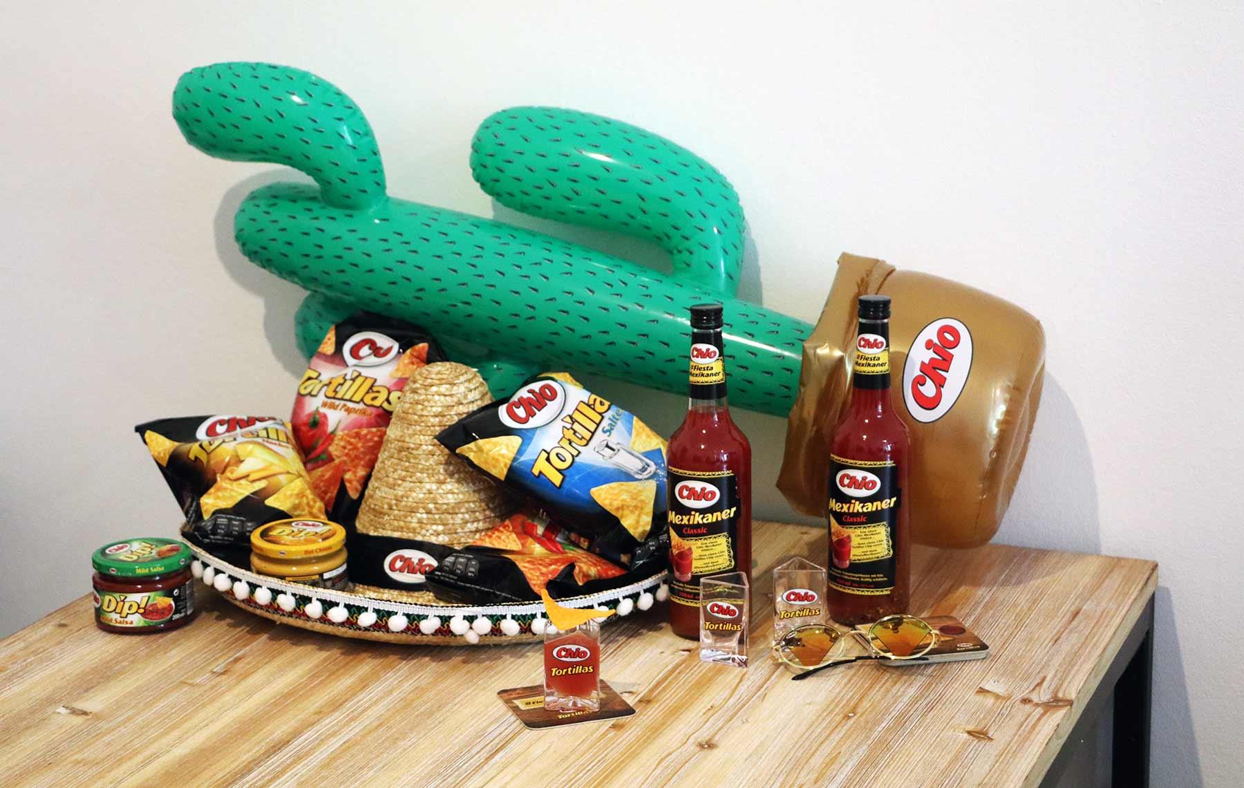 10 Exklusive Fiestamexikaner Party Packs Von Chio Zu