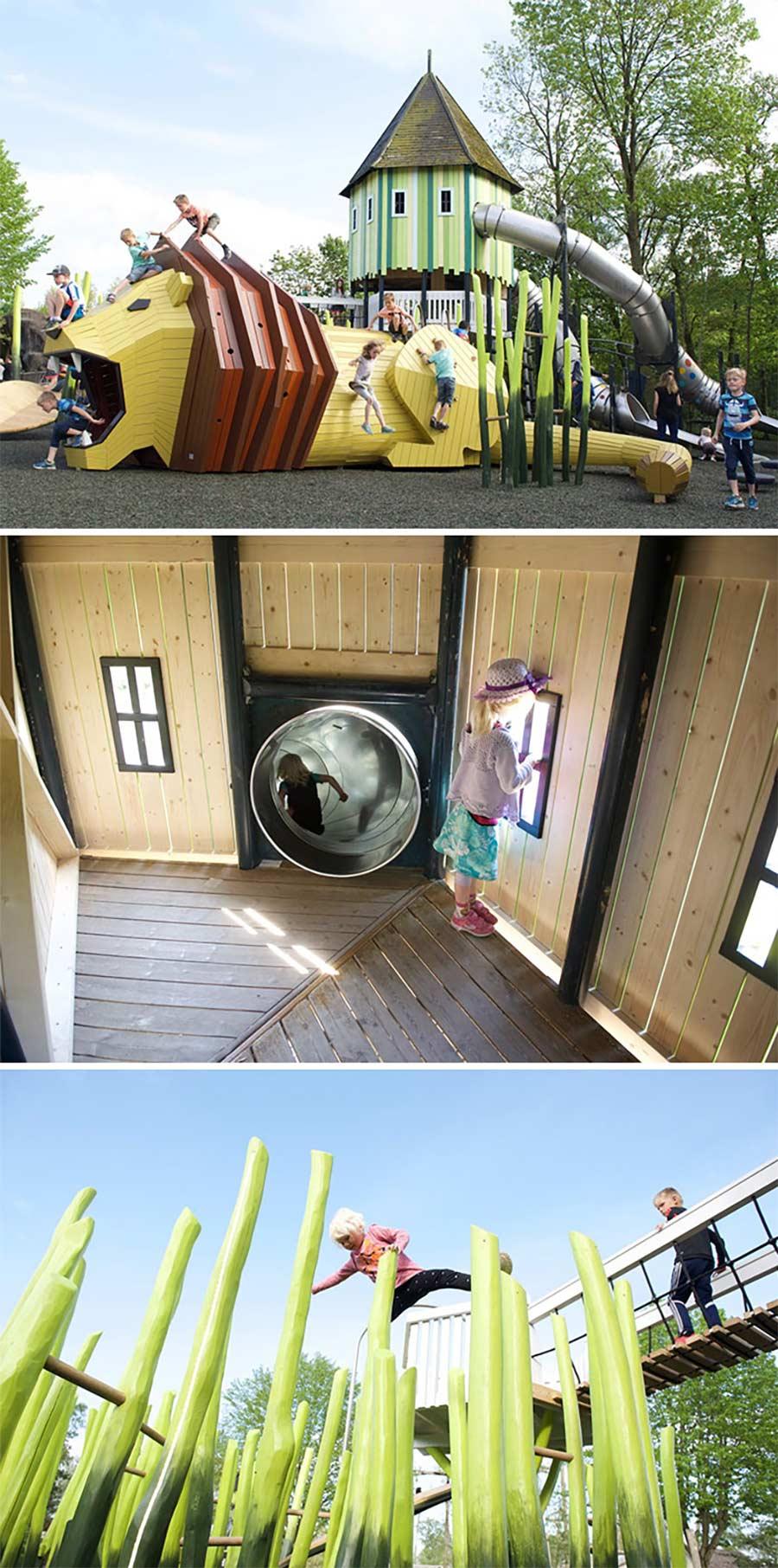 Super-originelle Kinderspielplätze von MONSTRUM Danish-Playgrounds_03