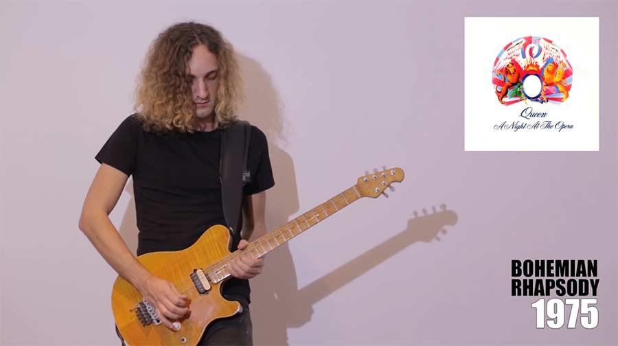 Mit der Gitarre durch die Queen-Diskografie