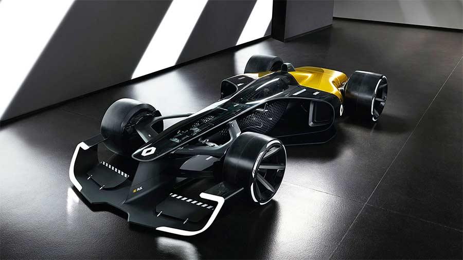 Sieht so die Zukunft der Formel 1 aus?