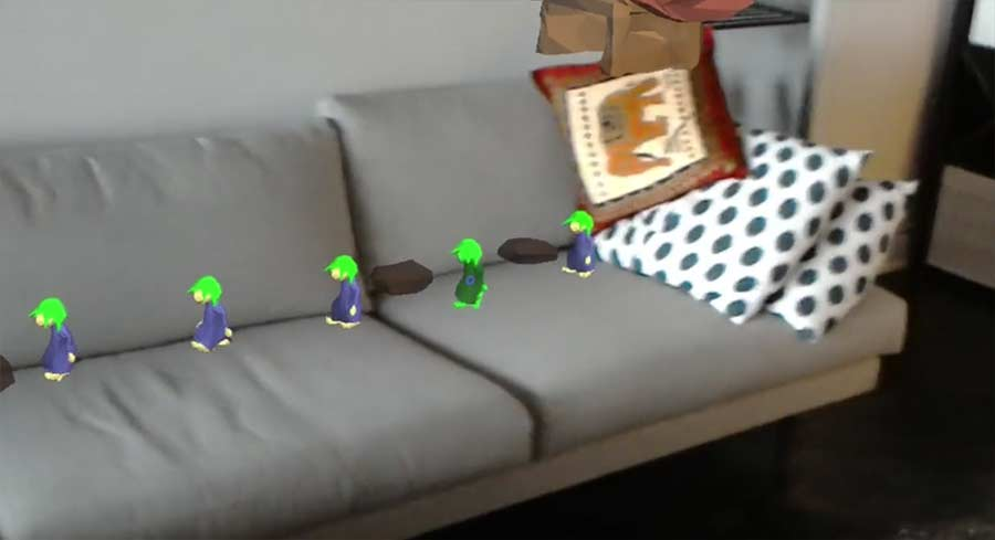 Lemmings im eigenen Wohnzimmer spielen