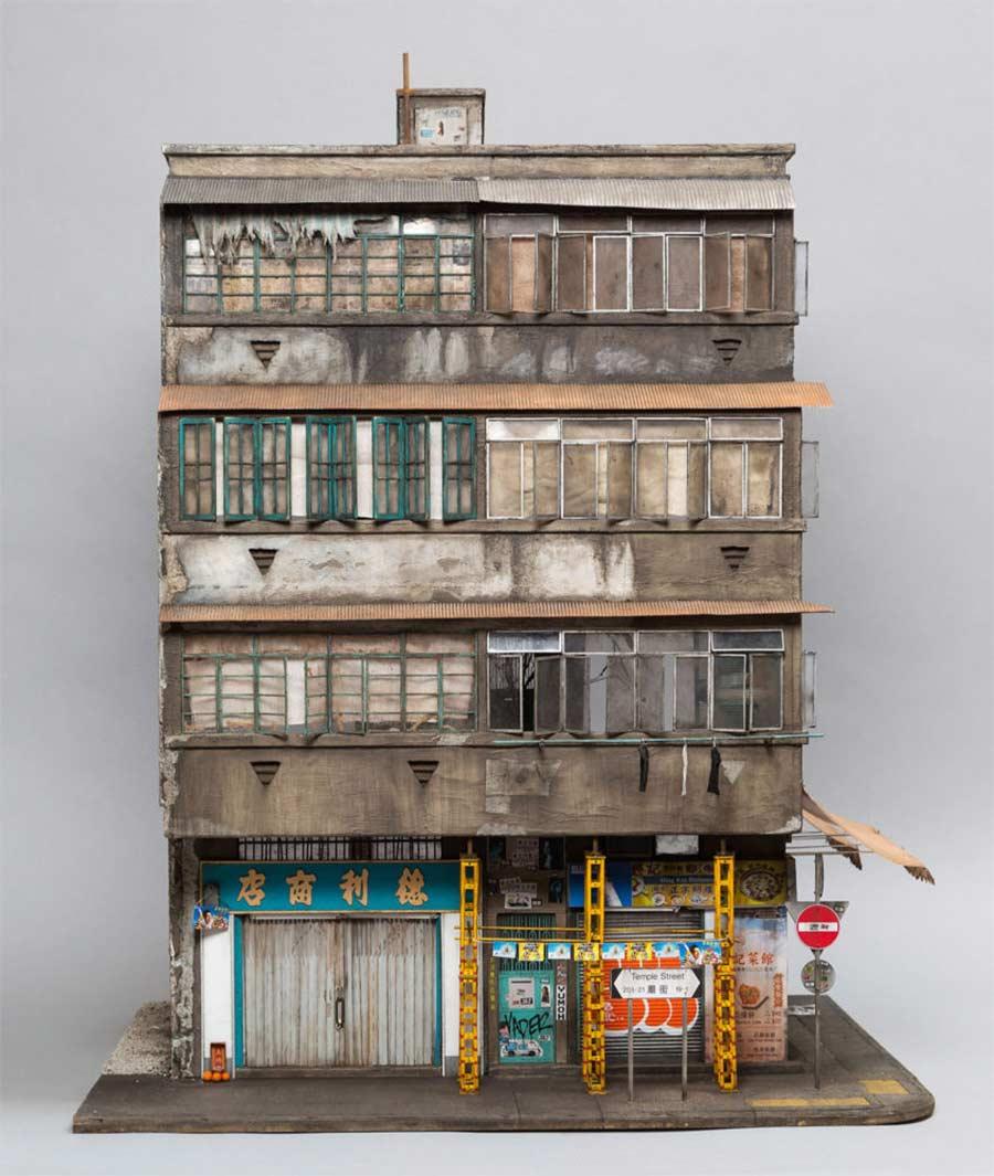 Miniaturgebäude von Joshua Smith joshua-smith-miniature-houses_02