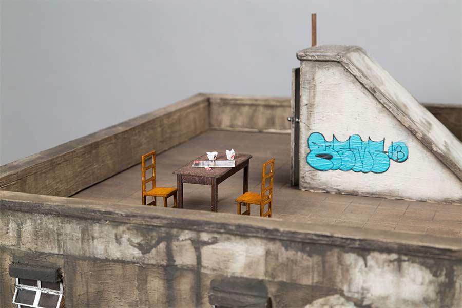 Miniaturgebäude von Joshua Smith joshua-smith-miniature-houses_03