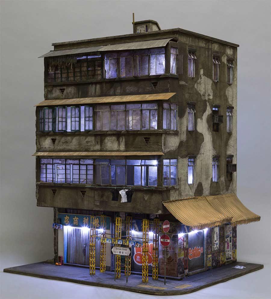 Miniaturgebäude von Joshua Smith joshua-smith-miniature-houses_05