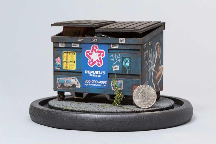 Miniaturgebäude von Joshua Smith joshua-smith-miniature-houses_07