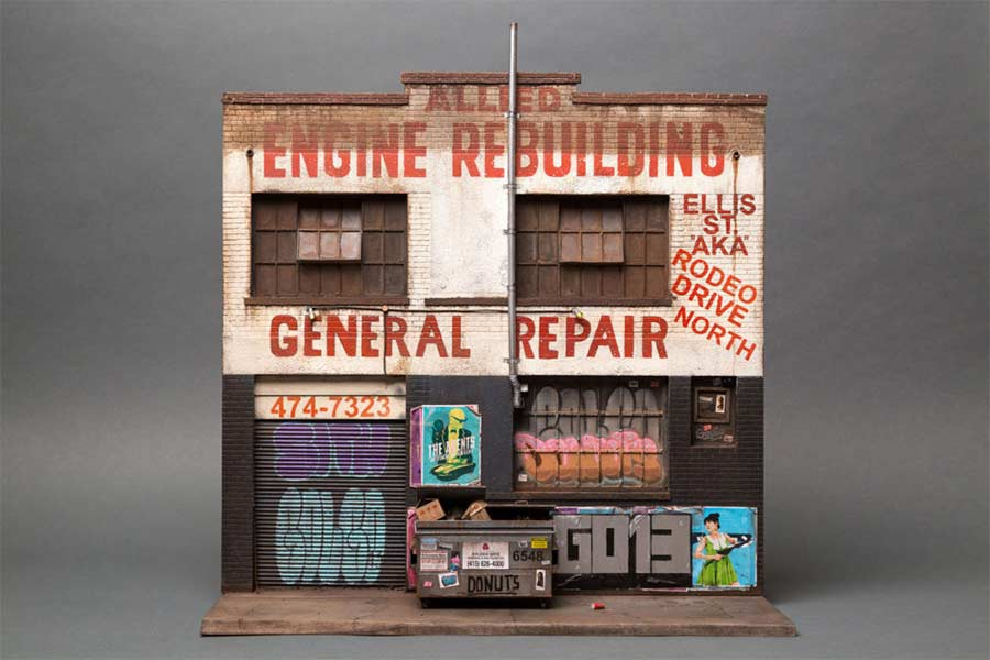 Miniaturgebäude von Joshua Smith joshua-smith-miniature-houses_08