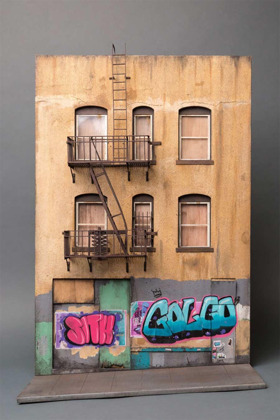 Miniaturgebäude von Joshua Smith joshua-smith-miniature-houses_09