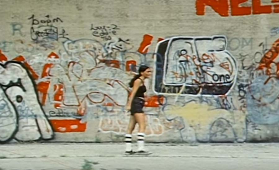 Graffiti-Dokumentation aus 1976