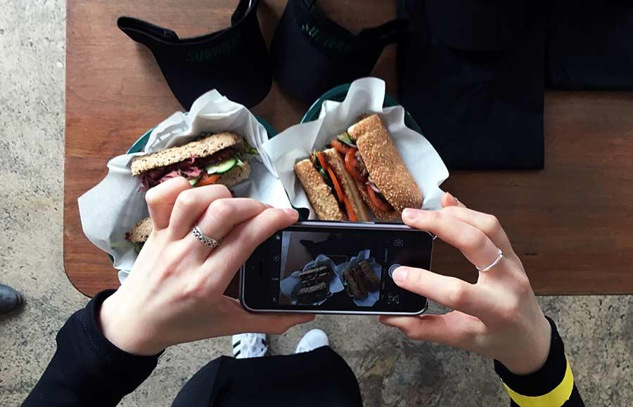 Street- trifft auf Sandwich-Art subway-streetfood-experience_10