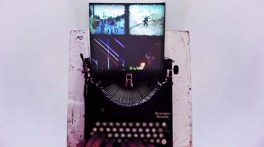Schreibmaschine als Beat Machine