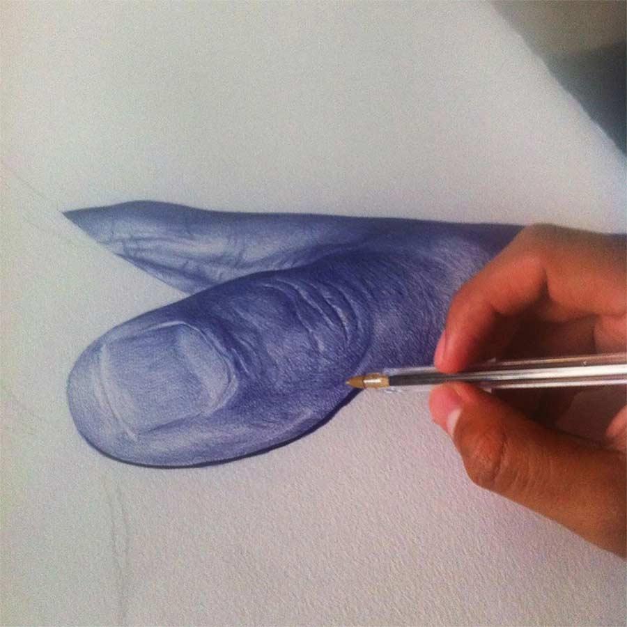 Kugelschreiber-Bilder von Alfredo Chamal Alfredo-Chamal-ballpoint-paintings_07