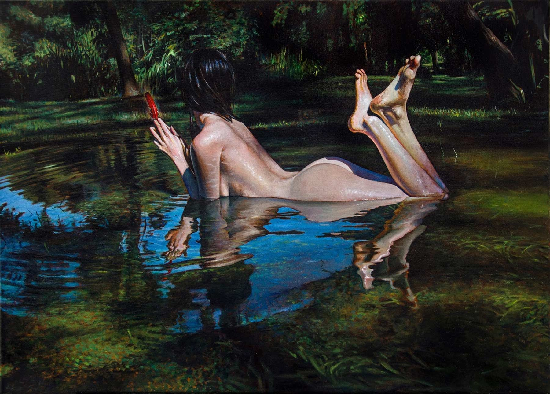 Malerei: Diego Gravinese