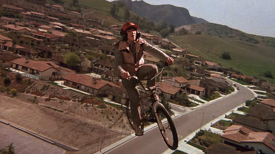 E.T.-Fahrradflugszene ohne Musik ET-minus-williams