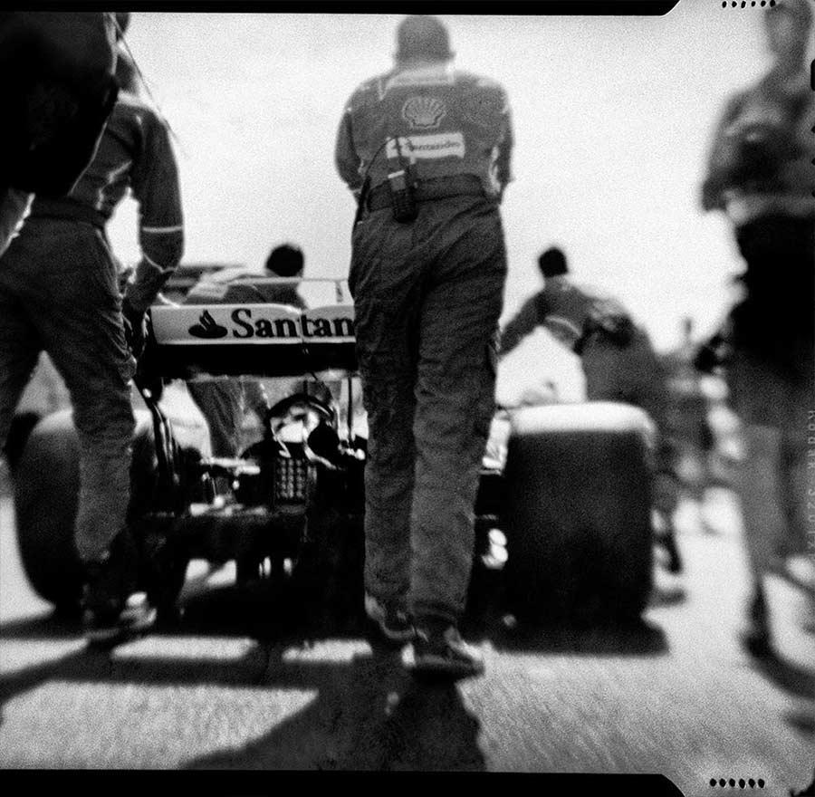 Formel 1-Fotografien mit einer 104 Jahre alten Kamera