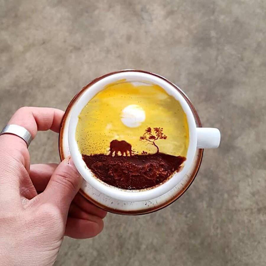 Kaffeekunst von Kangbin Lee Kangbin-Lee-kaffeekunst_04