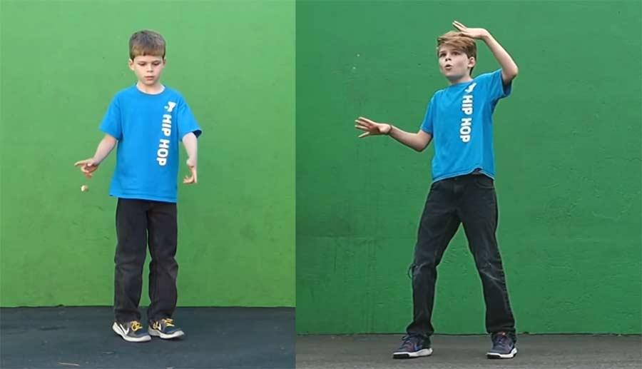 Vor und nach 700 Tanzstunden in 2 Jahren