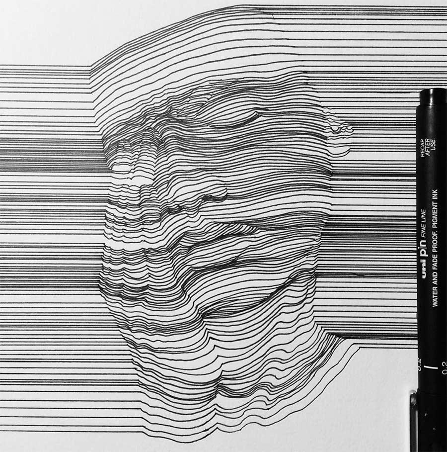 In Form gebrachte Linien Nester-Formentera-lines_02