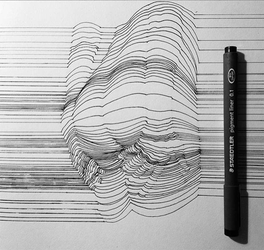 In Form gebrachte Linien Nester-Formentera-lines_04