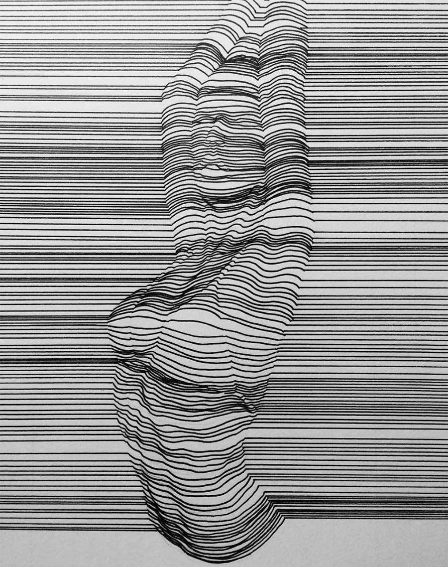 In Form gebrachte Linien Nester-Formentera-lines_07