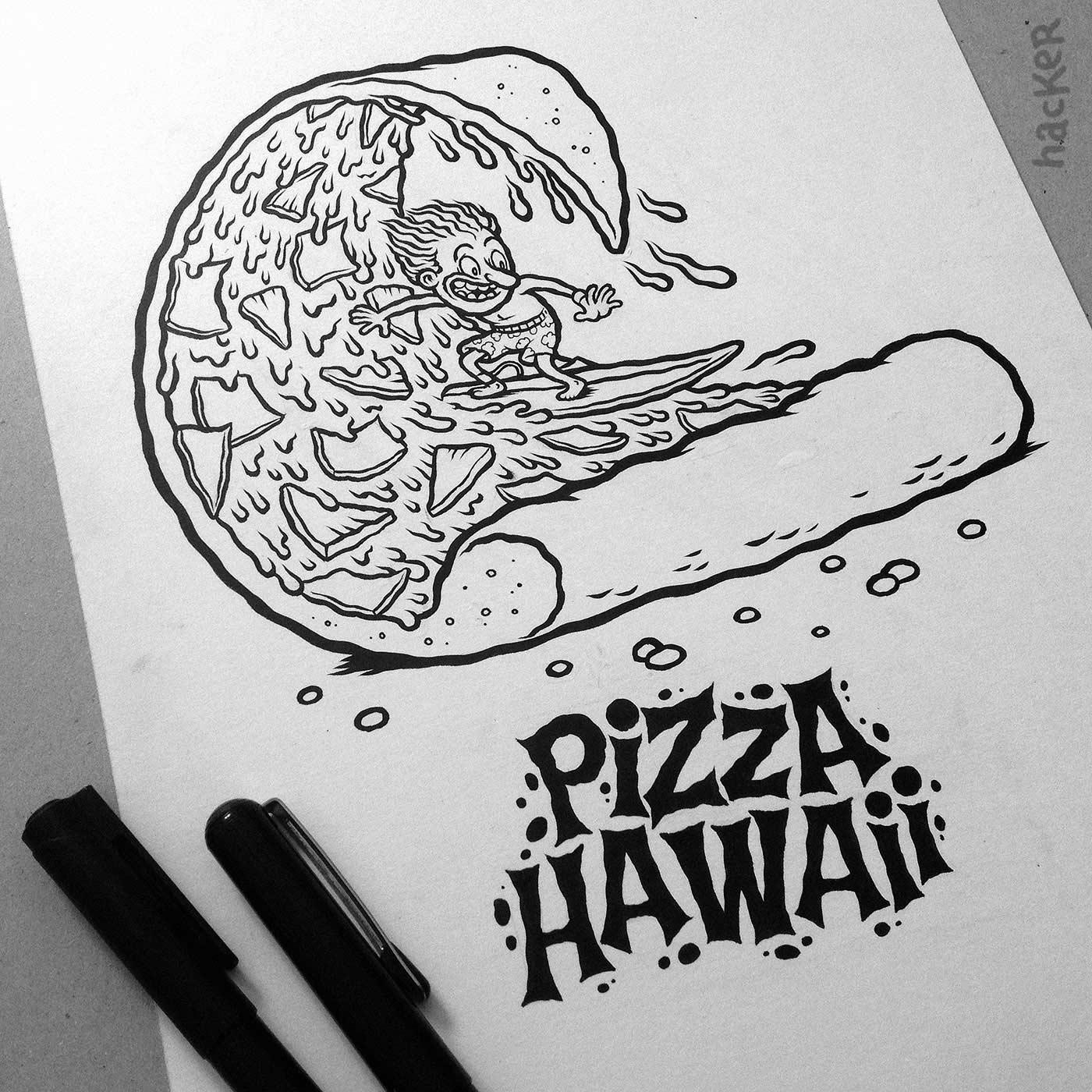 Ein Cartoonbuch voll kulinarischer Wortwitze Pizzeria-Disgusto_04