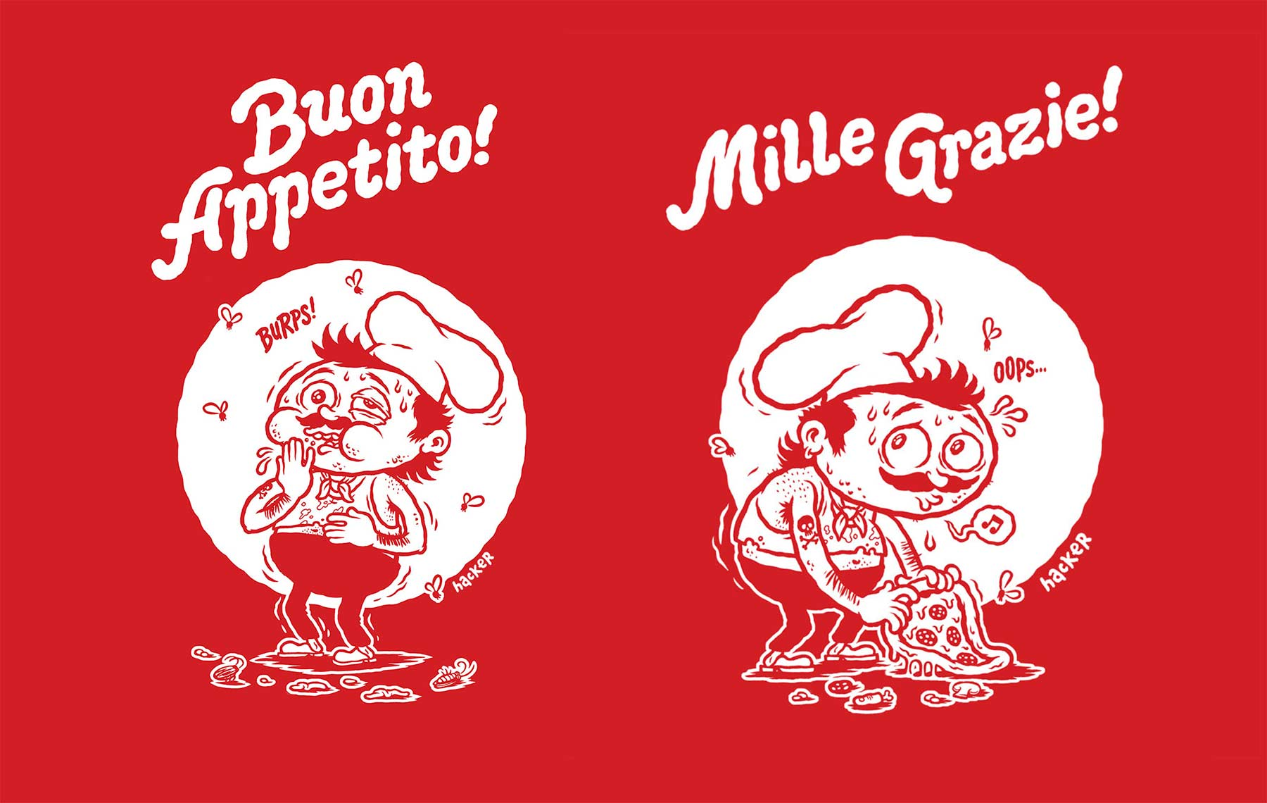 Ein Cartoonbuch voll kulinarischer Wortwitze Pizzeria-Disgusto_05