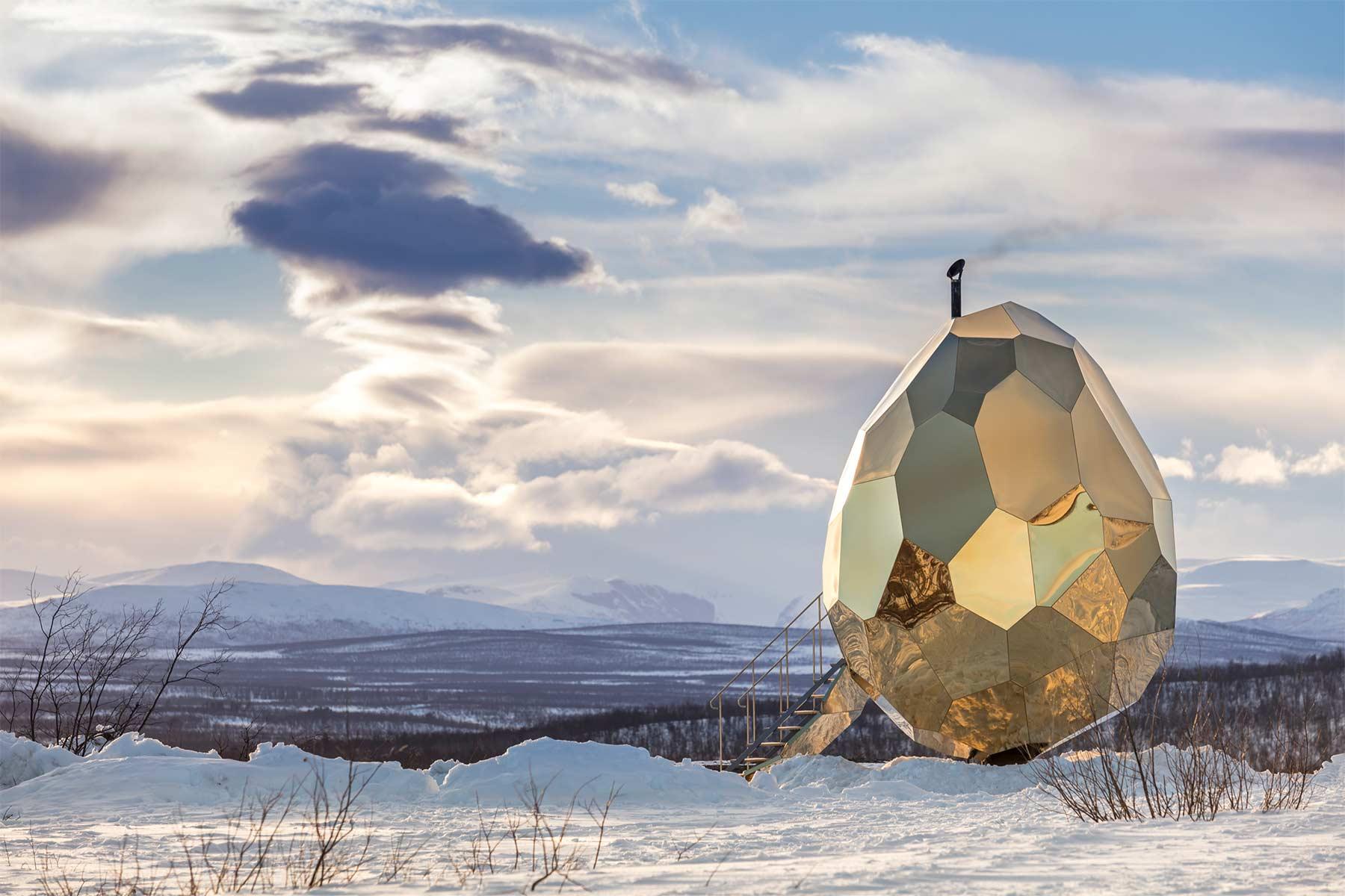 Goldendes Sauna-Ei Solar-Egg_01