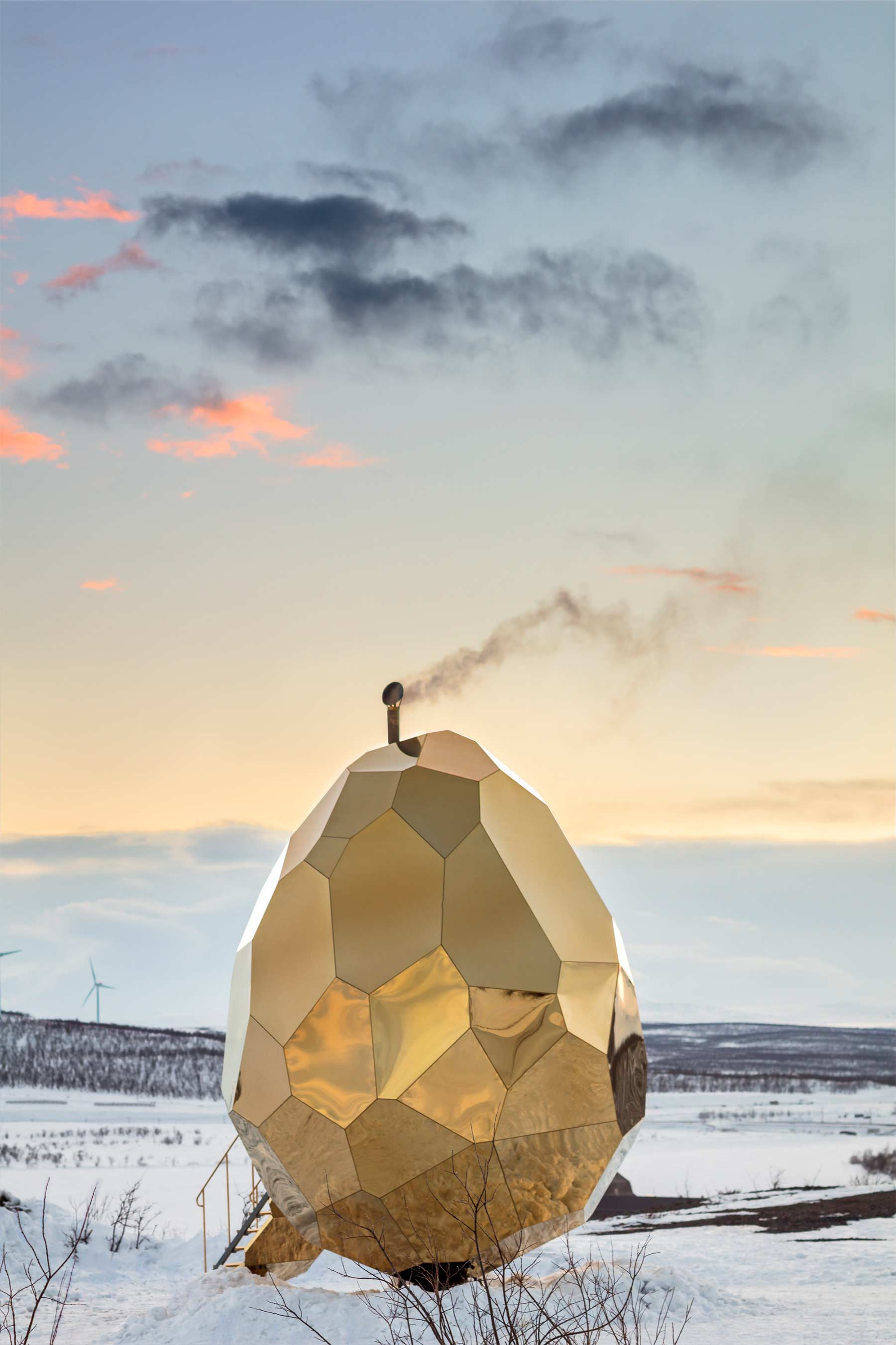 Goldendes Sauna-Ei Solar-Egg_07