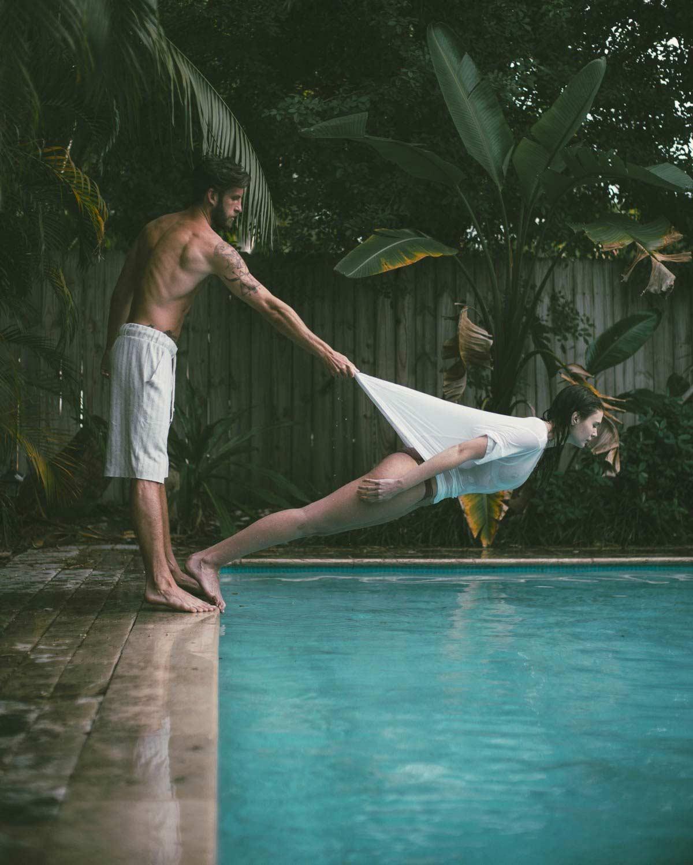 Wie dieses schöne Poolfoto entstand
