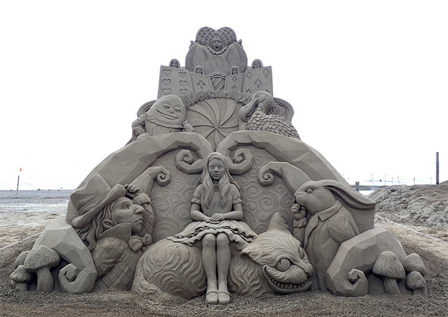 Sandskulpturen von Toshihiko Hosaka Toshihiko-Hosaka-sandsculptures_02