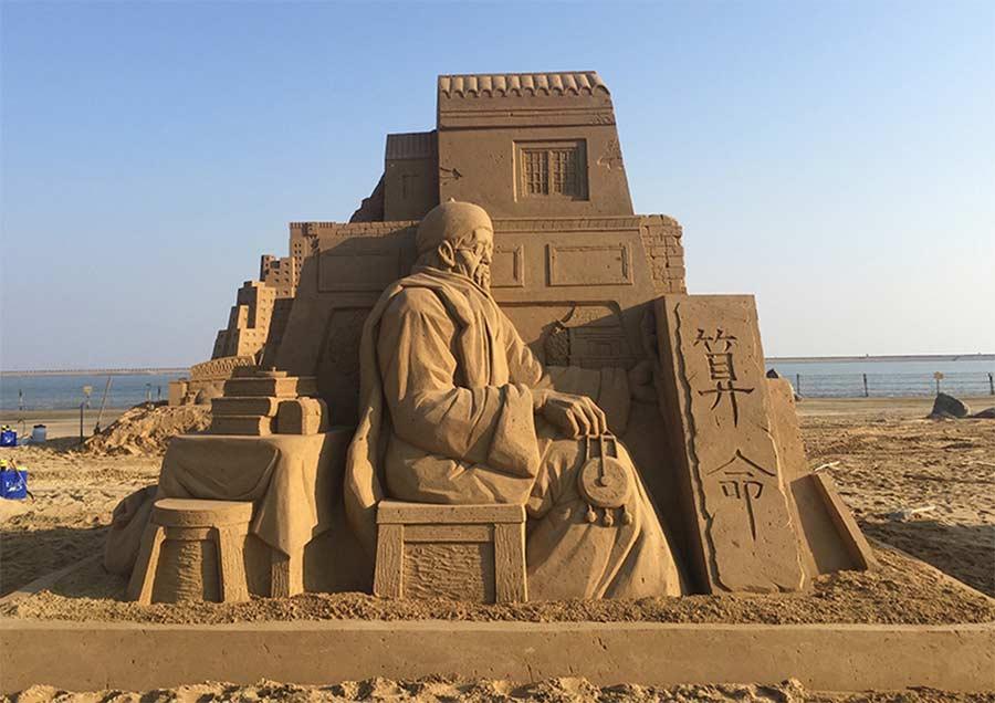 Sandskulpturen von Toshihiko Hosaka Toshihiko-Hosaka-sandsculptures_05