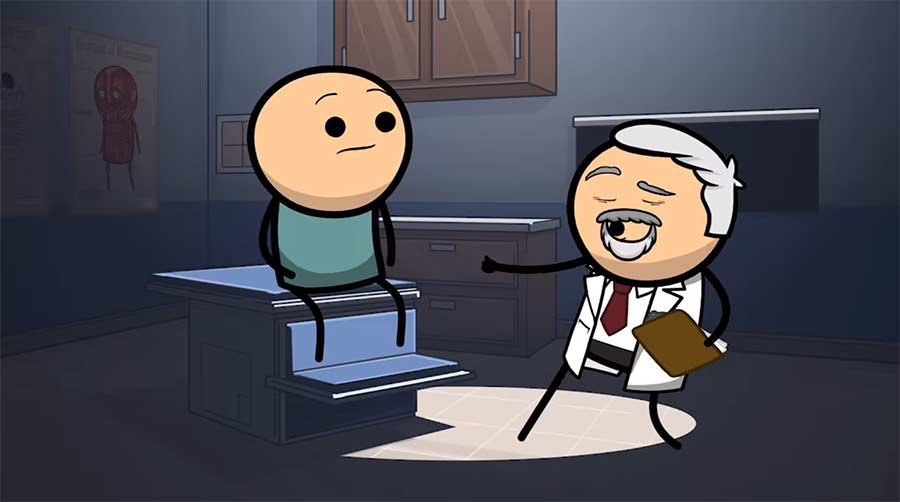 Cyanide & Happiness Shorts: Lab Results