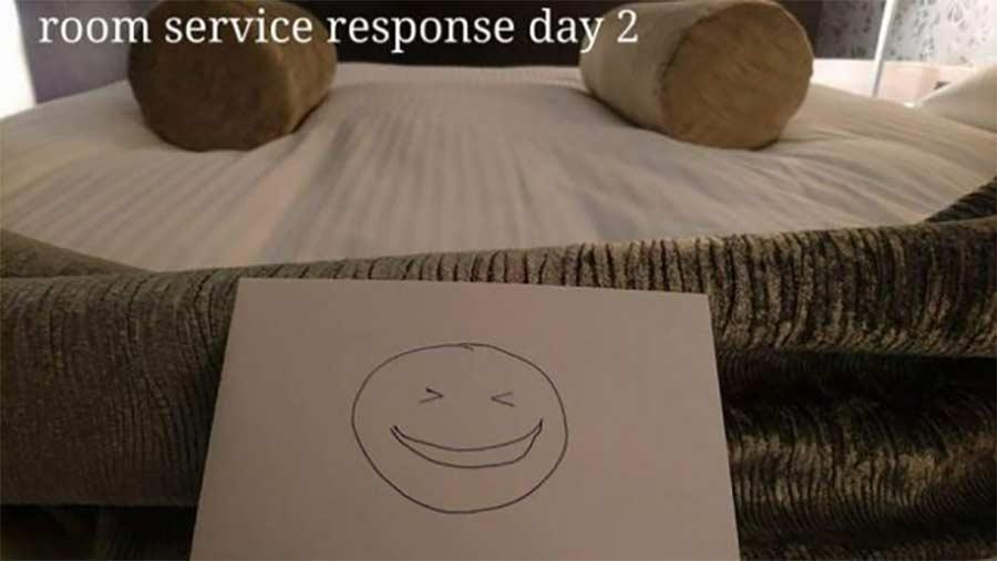 Kreative Bettmonster-Überraschungen eines Hotelgastes hotel-guest-surprise-maid_05