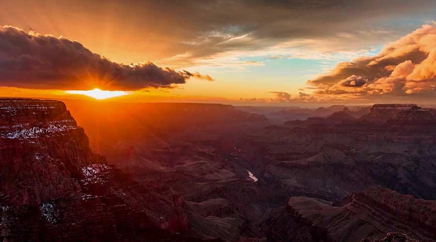 Wunderschönes Grand Canyon-Timelapse