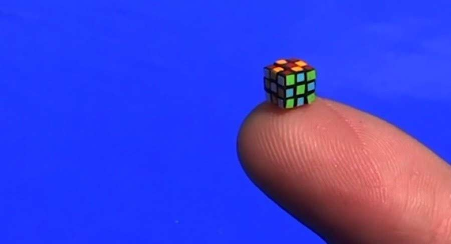 Der kleinste Rubik's Cube der Welt kleinster-rubiks-rube