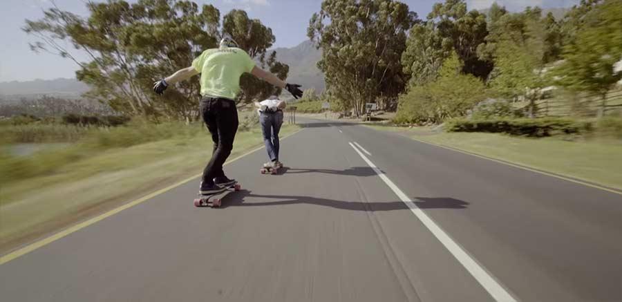 Mit dem Longboard durch Südafrika