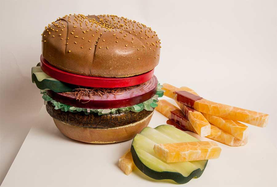 Fast Food aus Stein marble-fast-food-Robin-Atar_01