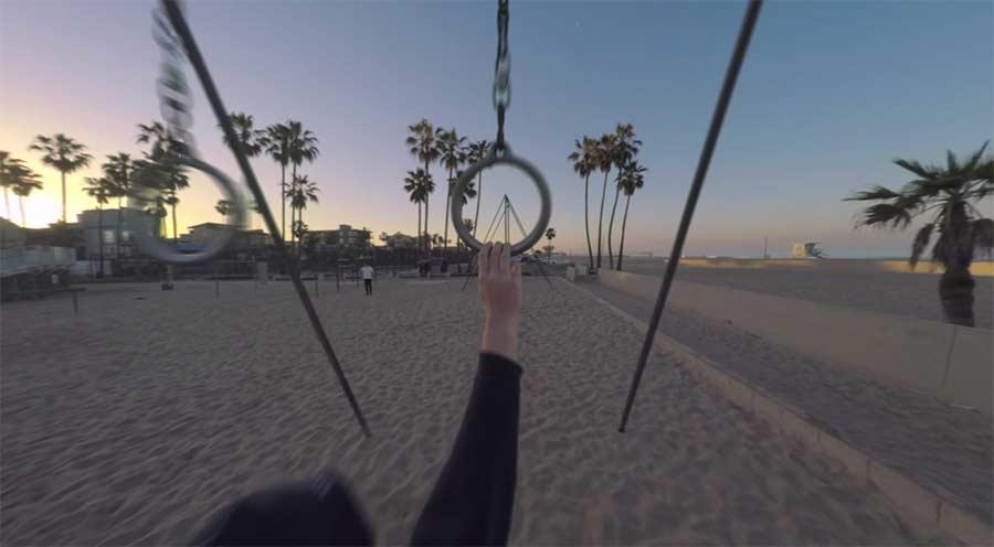 Mit der kleinsten Kameradrohne der Welt durch Los Angeles