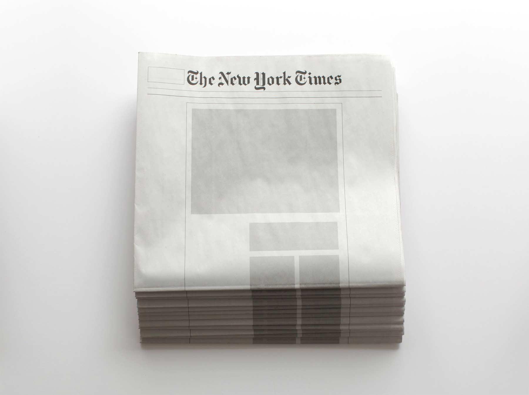Leere Zeitungen