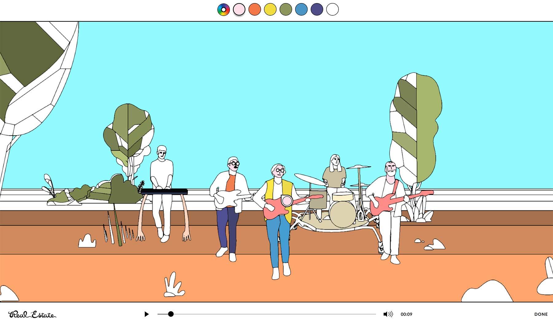 Dieses interaktive Musikvideo könnt ihr selbst ausmalen