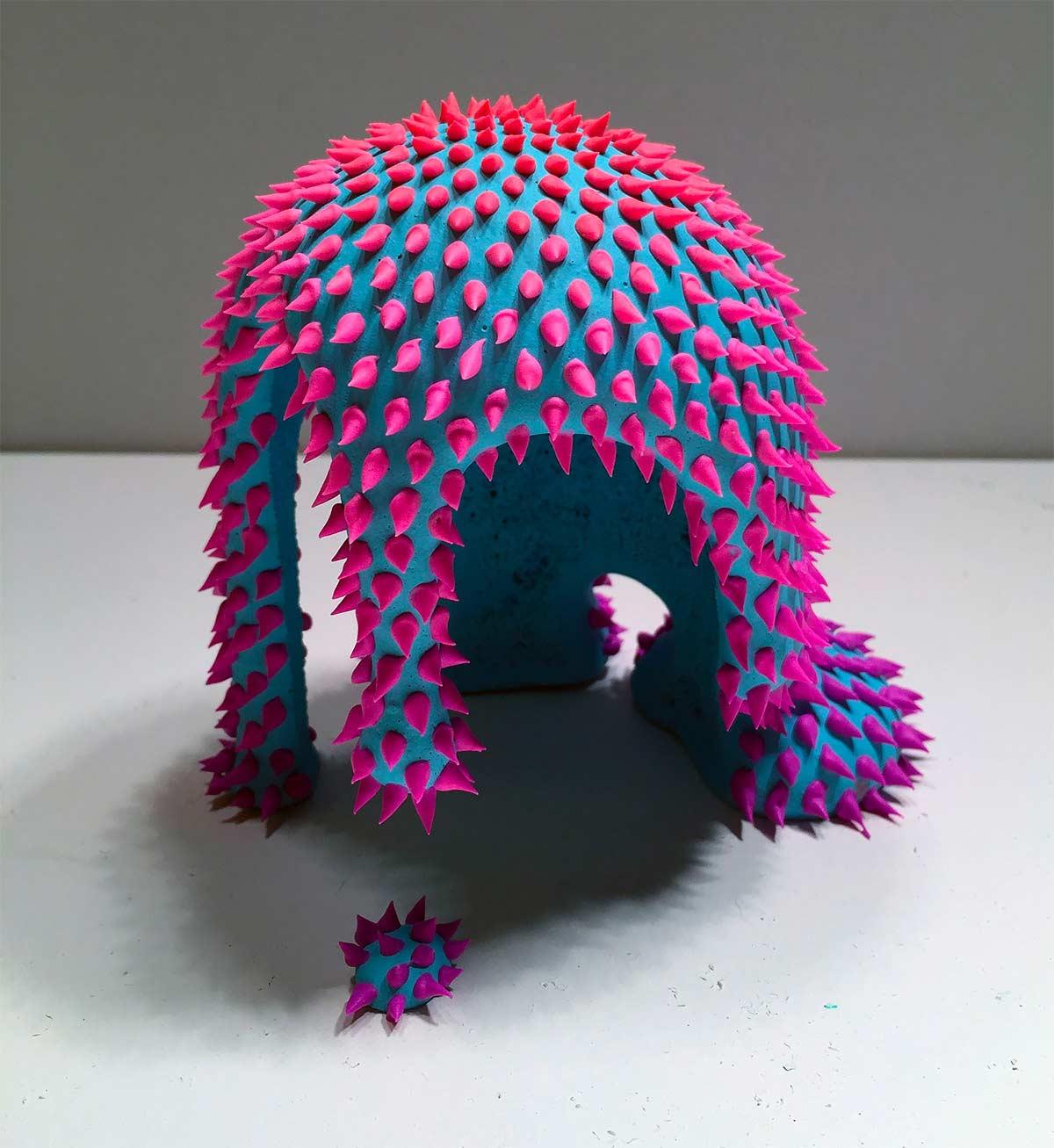 Stachelige Flüssigkeit-Skulpturen Dan-Lam-Skulpturen_02