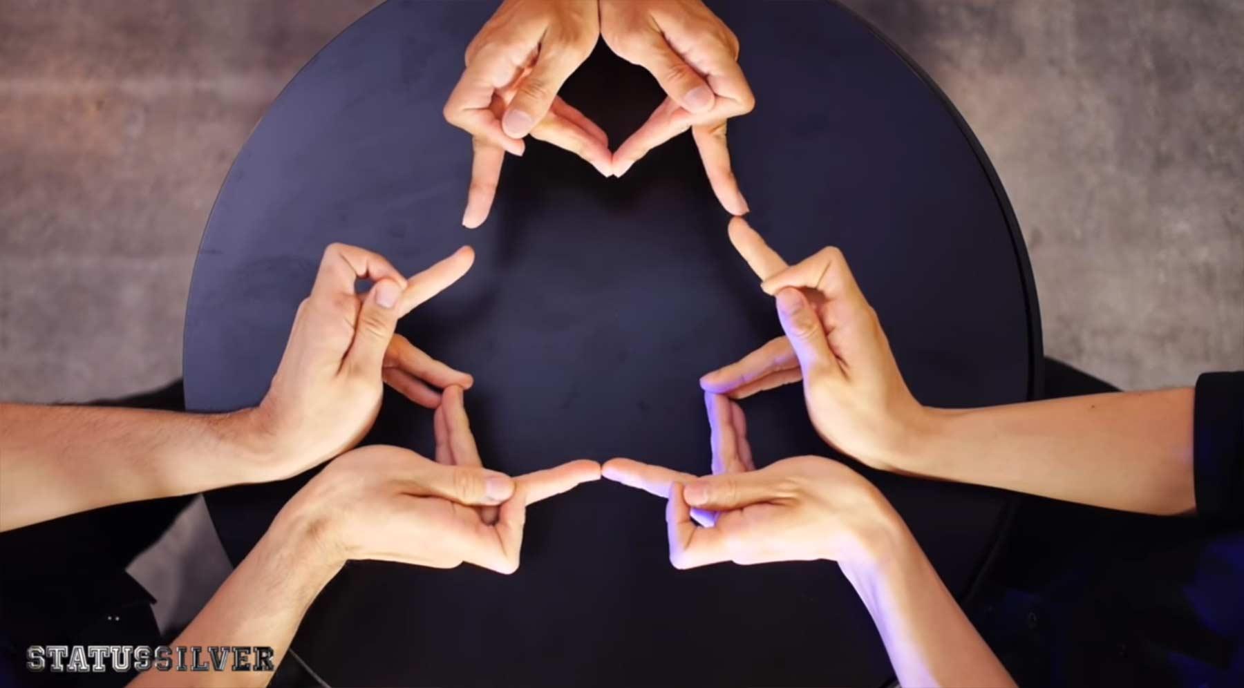 Ein Kaleidoskop aus Fingern