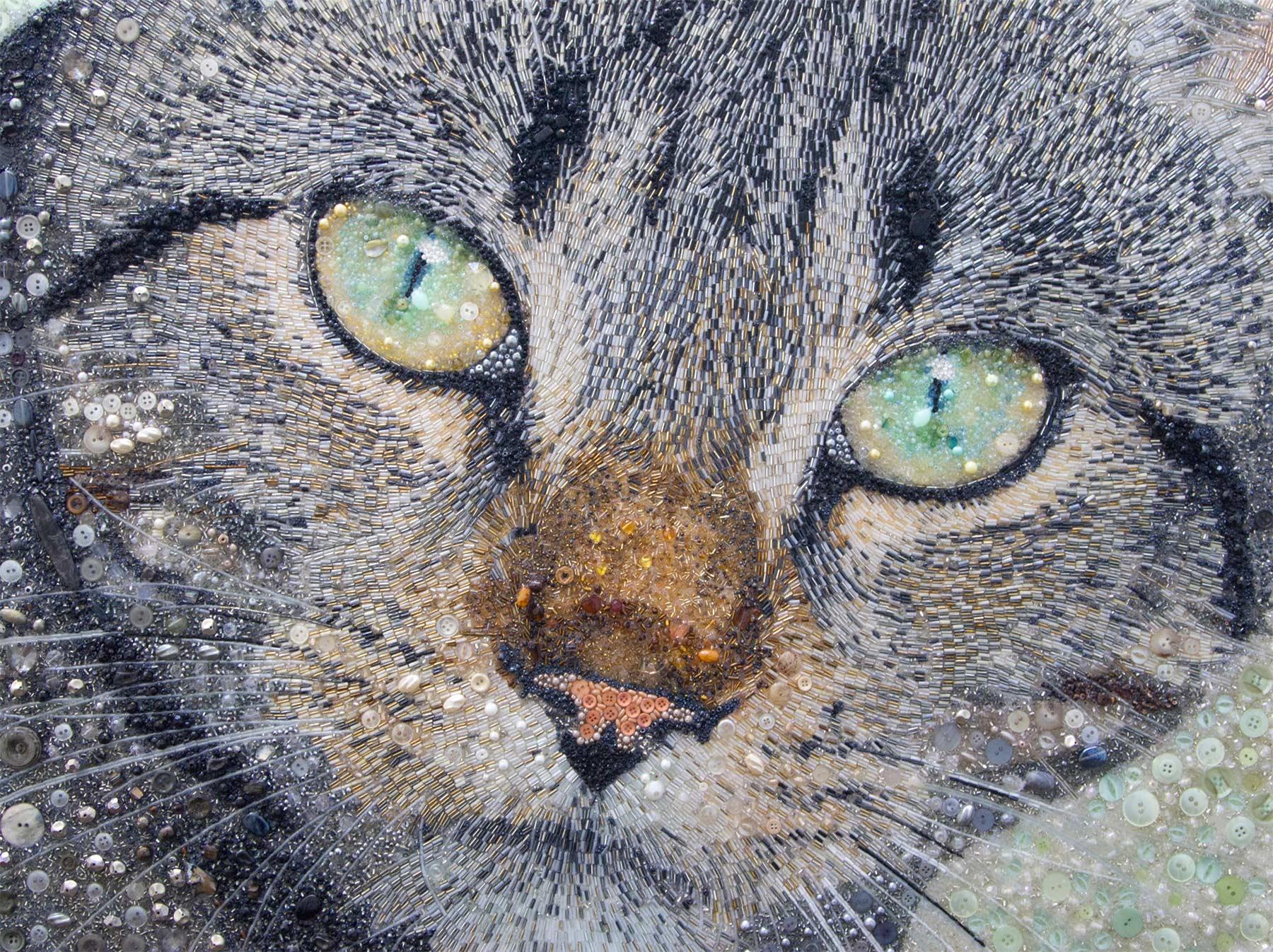 Tierportraits aus Knöpfen und Perlen Sarah-Jane-Connors_button-portraits_10