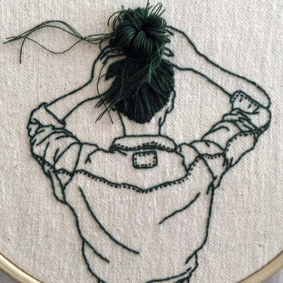 Haarige Stickereien von Sheena Liam Sheena-Liam_03
