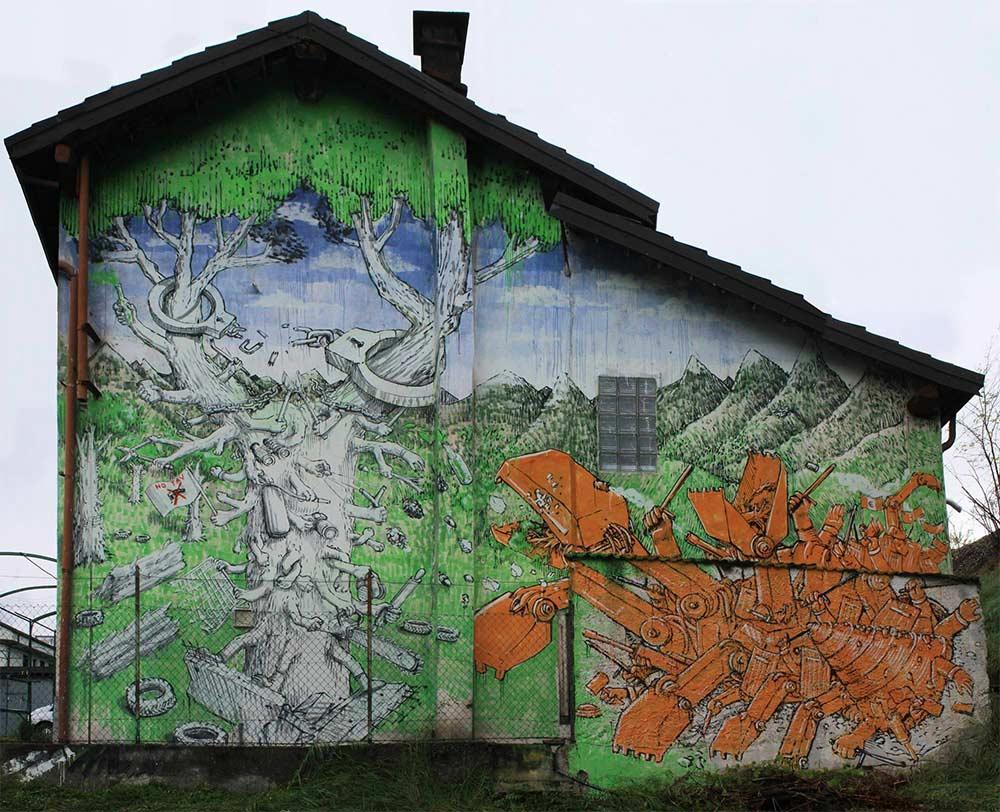 Neue Murals von Blu blu-mural-italy_06