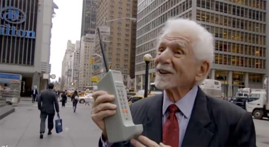 Das war das erste Mobilfunktelefon