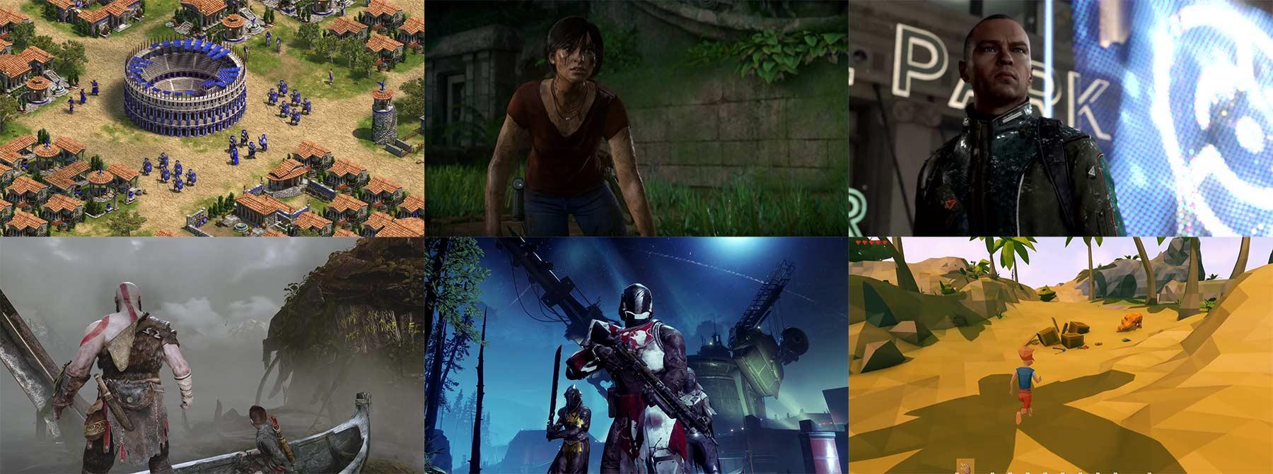 E3 2017 Trailer: Age of Empires, God of War, Destiny 2, Far Cry 5, …