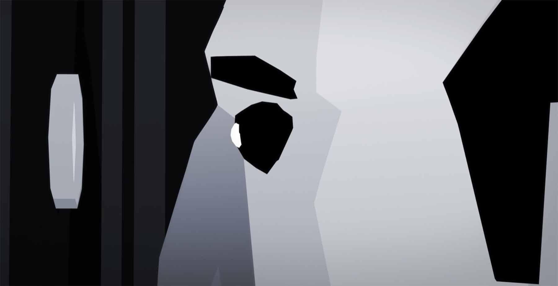 Eine animierte Prise Hitchcock fisheye-animated-short